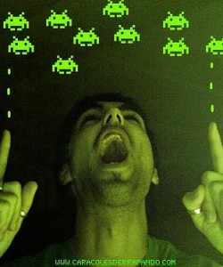 Beware the space invader. Thanks to Xabi Gomez for the image.