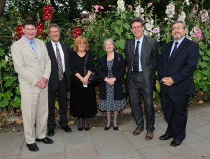 Adrian Keane, Nigel Duncan, Susan Blake, Baroness Hale, Andrew Boon and Rob McPeake.