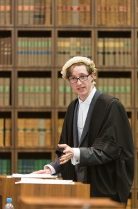 Philip Aspin persuading the court