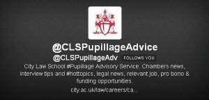 Follow @CLSPupillageAdvice