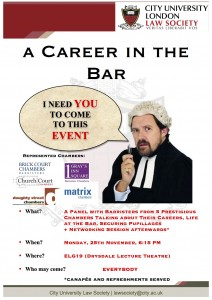 A Career in the Bar Event