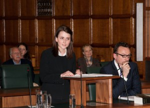 Celia persuading Lord Hughes