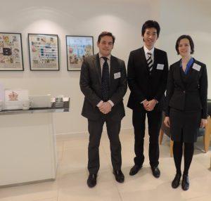 Douglas James, Mathias Cheung and Emma Park