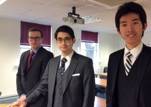 Matthew Gillett, Michael Levenstein & Matthias Cheung.