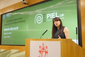 Amelia Womack, deputy leader of the Green Party
