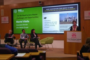 Mariel Viella speaking on Zero Waste