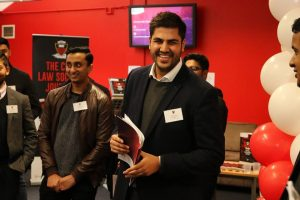 Zain at the Law Society Journal launch
